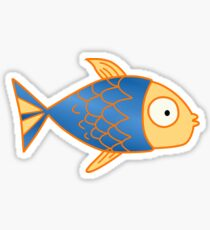 Fishy Tee & other products! Sticker