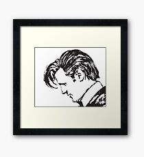 Matt Smith as The Doctor Framed Print