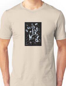 Moon Rider Abstract Pattern Unisex T-Shirt