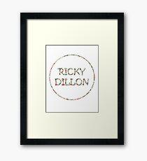 Ricky Flowers Framed Print