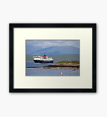 MV Isle of Mull Framed Print