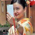 Geisha Selfie by phil decocco