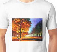 FLAMING NIGHT - Leonid Afremov Unisex T-Shirt