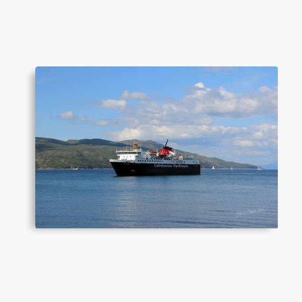 MV Isle of Mull Canvas Print