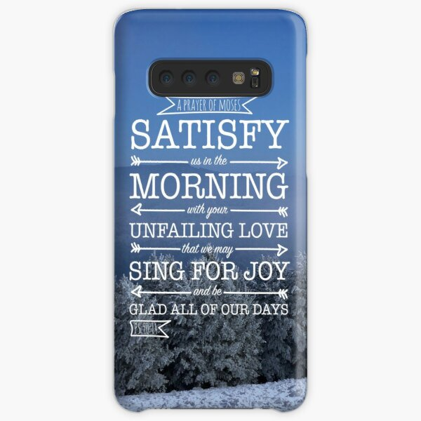 Winter Satisfaction Samsung Galaxy Snap Case