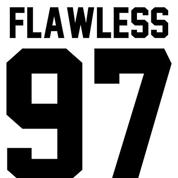 Flawless '97 - Jersey Tee & Phone Case by jezzhands