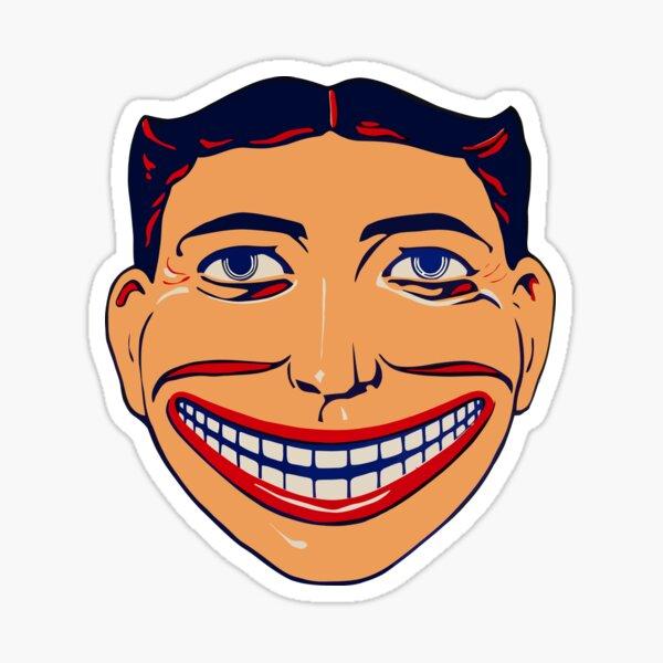 Steeplechase Face Coney Island Sticker