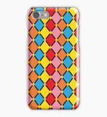 Multicoloured Harlequin iPhone Case/Skin