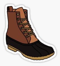 Duck Boot Sticker