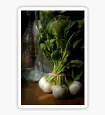 Still Life with Turnips Sticker