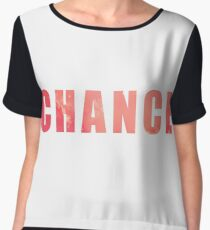 Chance The Rapper Coloring Book Chiffon Top