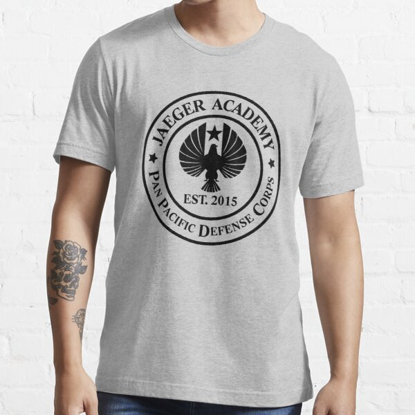 Jaeger Academy logo in black! Essential T-Shirt