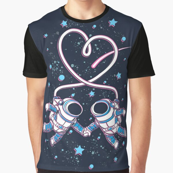 Space Love Graphic T-Shirt