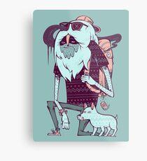 Abominable Broham  Metal Print