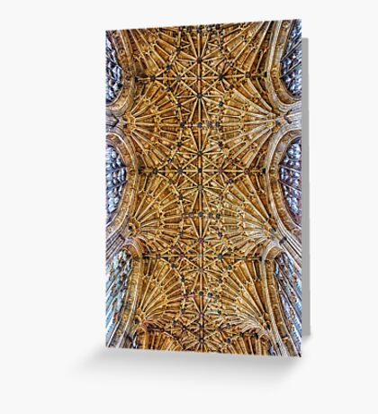 Fan Vaulted Ceiling Greeting Card