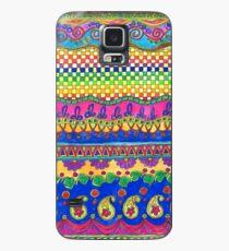 Color Borders Galore Case/Skin for Samsung Galaxy