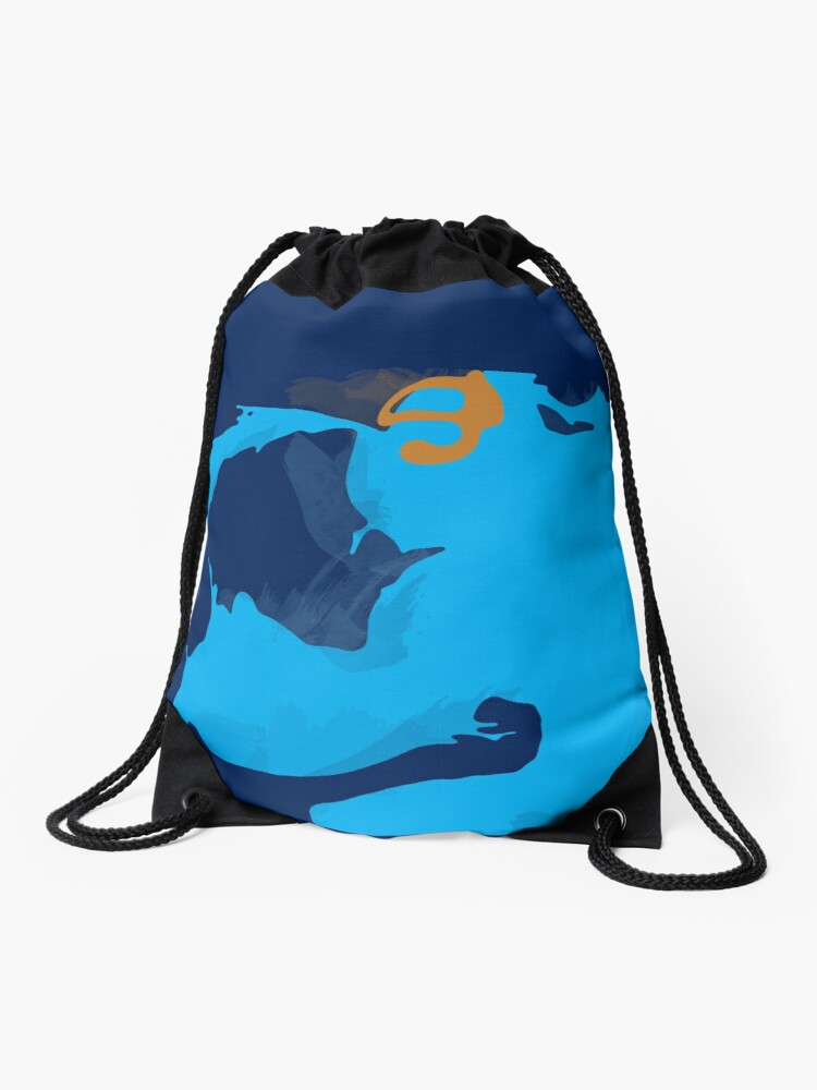 Pool Party Zac Drawstring Bag By Shnickmann Redbubble