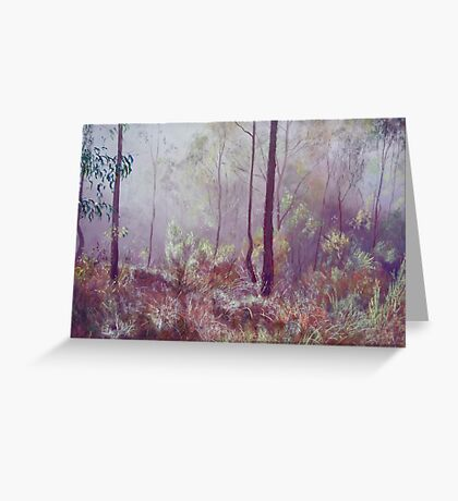 Glowing Mist Greeting Card