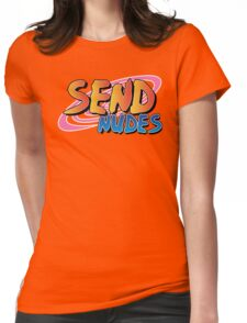 Send Nudes Anime v3 Womens Fitted T-Shirt