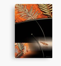 ancient river bed Canvas Print