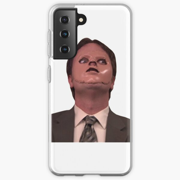 Dwight Schrute CPR Mask Funny Samsung Galaxy Soft Case