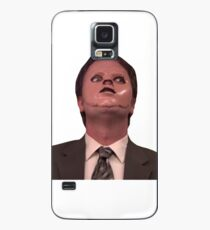 Dwight Schrute CPR Mask Funny Case/Skin for Samsung Galaxy