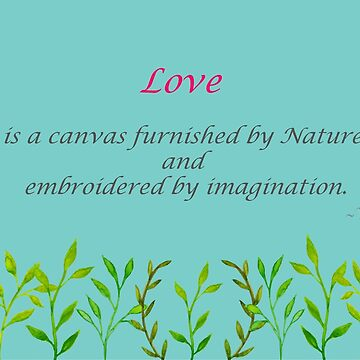 Valentine's Cards: Love is a Canvas 2 by MADEBYCATHERINE