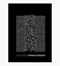 Joy Division - Unknown Pleasures Photographic Print