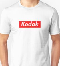 Kodak Supreme Logo Unisex T-Shirt