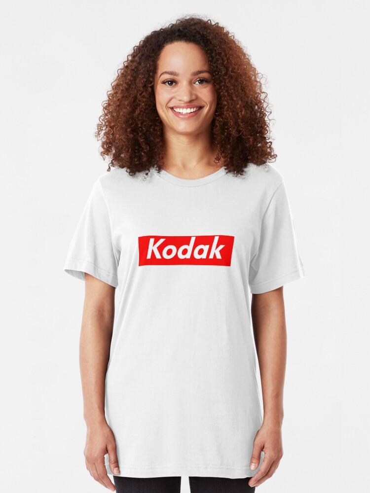 Kodak Supreme Logo   Slim Fit T-Shirt