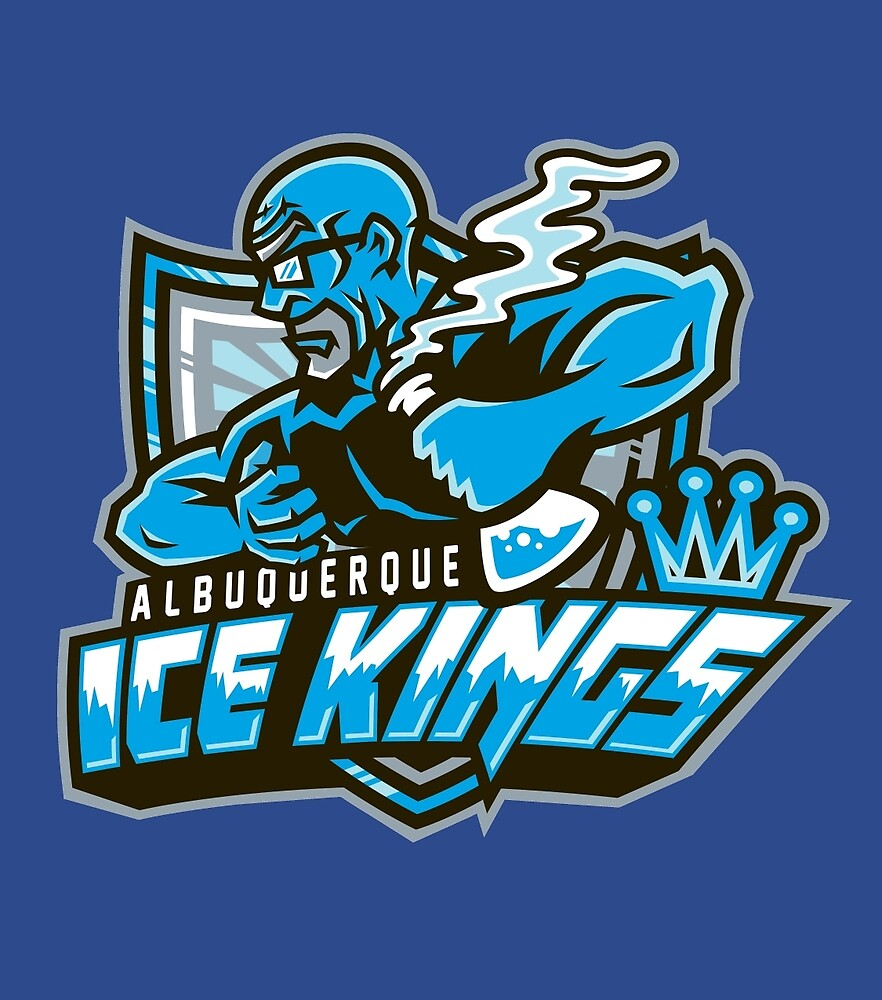 Albuquerque Ice kings by CoDdesigns