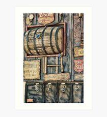 Steampunk Brewery Art Print