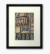 Steampunk Brewery Framed Print