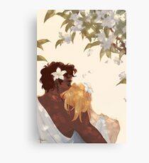 Myrtle Petals Canvas Print