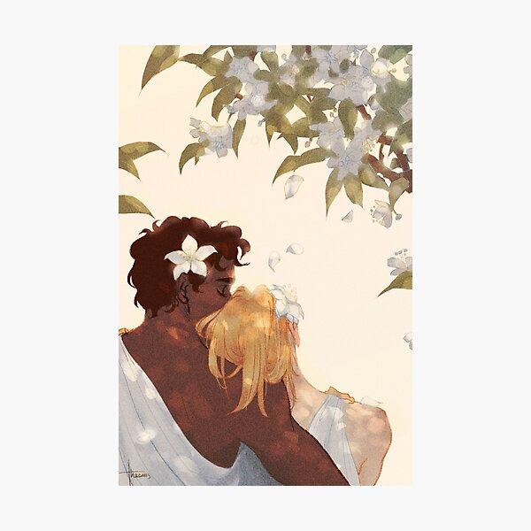 Myrtle Petals Photographic Print