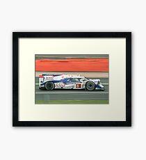 Toyota WEC Hibrid racing car Framed Print