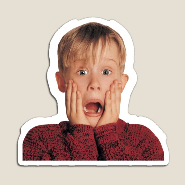 Kevin Mccalister Home Alone Movie Magnet