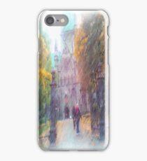 Nidaros photo paint iPhone Case/Skin