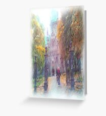 Nidaros photo paint Greeting Card