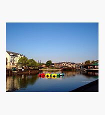 Colours at Exeter Quay Photographic Print