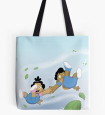 Winston and Marisol Magically Whisked away Tote Bag