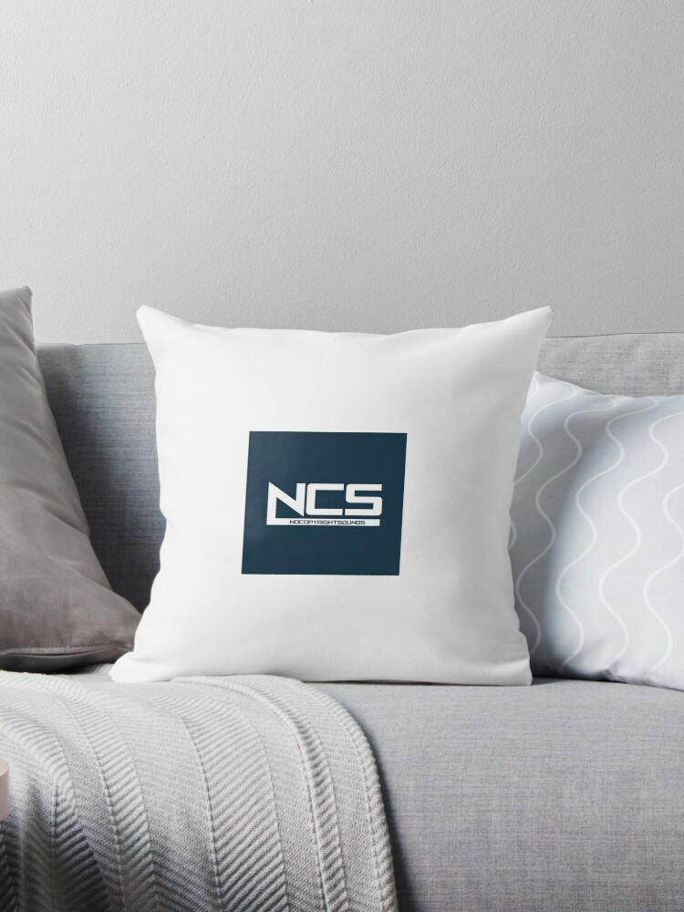 'NoCopyrightSounds (NCS) Merchandise - Best Copyright Free Music YouTube  Channel' Throw Pillow by newbie82