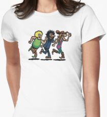 The Fabulous Furry Freak Brothers Women's Fitted T-Shirt
