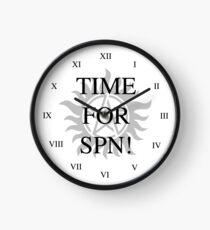Time For Supernatural! Clock