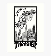 Thrasher - Liberty Art Print