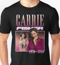 Carrie Fisher Retro Shirt Unisex T-Shirt