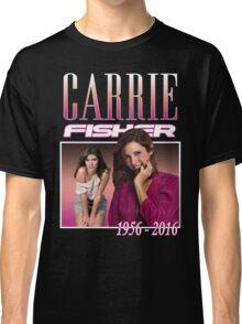 Carrie Fisher Retro Shirt Classic T-Shirt