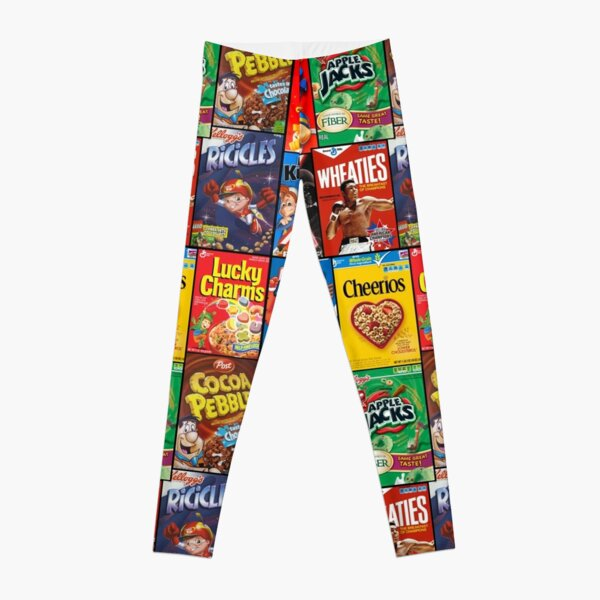 Cereals Boxes Leggings