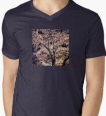 Sakura - Cherry Blossom - Kyoto Men's V-Neck T-Shirt
