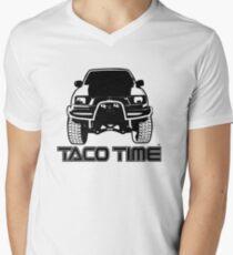 Taco Time- Toyota Tacoma Men's V-Neck T-Shirt